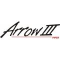 "Piper Arrow III Decal/Sticker 4"" high by 14"" wide!"