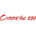 "Piper Comanche 250 Decal/Sticker! 2.2"" high by 12"" wide!"