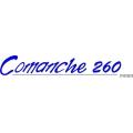 """Piper Comanche 260 Piper Decal/Sticker! 2"""" high by 12"""" wide!"""
