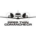 Piper  Twin Comanche C/R Airplane Decals!