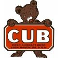 Piper Cub Logo (2) Aircraft Decal,Sticker 8 1/2''high x 7 3/4''wide!