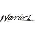 "Piper Warrior I Decal/Vinyl Sticker 2.88"" high by 12"" wide!"