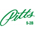Pitts S-2B Aircraft Logo,Decals!
