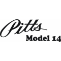 Pitts Aircraft Model 14 Logo/ Decal!