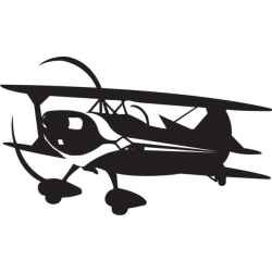 Pitts Outline Decal/Vinyl Sticker!