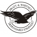 Pratt & Whitney Aircraft Decal/Sticker 10''diameter!
