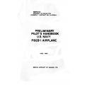 Boeing Preliminary Pilot's Handbook U.S. Navy PB2B-l Airplane 1943