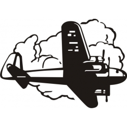 Prop Plane Decal/Vinyl Sticker!