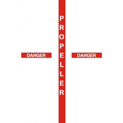 Propeller Danger Aircraft Placards,Decals!
