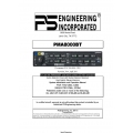 PS Engineering Incorporated PMA8000BT Installation and Operation Manual 200-890-1702 $6.95