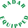Cessna Radar Equipped Aircraft Decal/Sticker 4''h x 4''w!