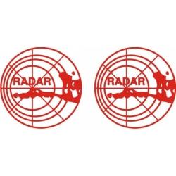 Radar Aircraft Placards,Decals!
