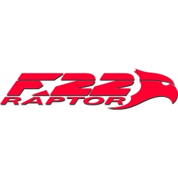 F22 Raptor Aircraft Emblem,Decals!
