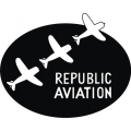 "Republic Aviation Decal/Sticker 10.63"" high by 10"" wide $10.99"