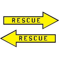 Rescue Aircraft Placards,Decals!