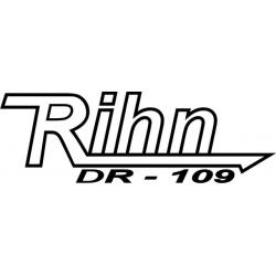 "Rihn Dr - 109 Decal/Vinyl Sticker 3.69"" high by 11"" wide!"