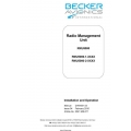 Becker Avionics Radio Management Unit RMU5000 Installation and  Operation Manual 2016