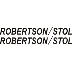 Robertson/Stol Aircraft Decal/Sticker 2''high x 20''wide!