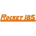 Johnson Rocket 185 Aircraft Logo,Decals!