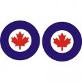 Canada Aircraft Insignia Decals!