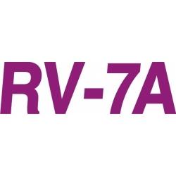 RV-7A Aircraft Decal,Sticker 5 1/4''high x 13''wide!