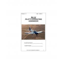 Van's Aircraft RV-12 Pilot's Operating Handbook $9.95