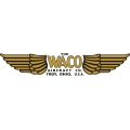 Waco Troy Ohio Aircraft Decal/Sticker 3''h x 16.5''w!