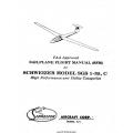 Schweizer Model SGS-1-35-C Sailplane Pilot's Operating Handbook and Flight Manual