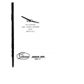 Schweizer 1-26 Sailplane Model A thru E Flight Erection Maintenance Manual $2.95