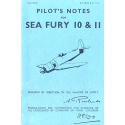 Sea Fury 10 & 11 Pilot's Notes