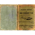 Sea Hornet F Mark 20 Pilot's Notes $2.95