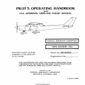 Cessna 152 Pilot's Operating Handbook and FAA Approved Flight Manual 1978-1979 $13.95