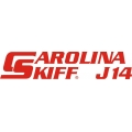 Carolina Skiff J14 Boat Decal/Sticker 13.5''wide x 3''high!