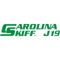 Carolina Skiff J19 Boat Decal/Sticker 13.5''wide x 3''high!