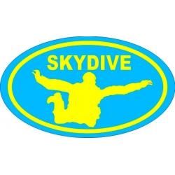 Skydive Decal Vinyl Sticker!