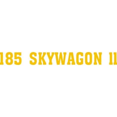 Cessna Skywagon X Aircraft Logo Decal