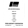 Piper Comanche Service Manual PA-24-180/250/260/400 $13.95 Part # 753-516