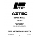 Piper Apache/Aztec Service Manual 2006 PA-23-235/250 $13.95 Part # 753-564