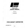 Piper Pawnee Brave Service Manual PA-36-285/300/375 $13.95 Part # 761-471