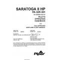 Saratoga II HP PA-32R-301 Pilot's Operating Handbook