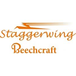 Beechcraft Staggerwing Aircraft Decal,Sticker!