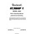 Beechcraft Model 2000 Starship 1 Pilot's Operating Manual PIN 122-590013-39 $19.95