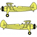 Stearman Decal/Sticker!