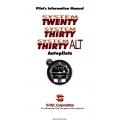 S-TEC 20-30 ALT Autopilots Pilot's Information Manual $6.95
