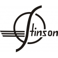 Stinson Aircraft Decal/Sticker 8''h x 8 1/4''w!
