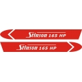 Stinson 165 hp Aircraft Decal/Sticker 4''h x 29''w!
