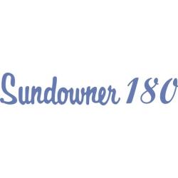 Beechcraft Sundowner 180 Aircraft Decal/Sticker 2.5''h x 12''w!