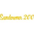 Beechcraft Sundowner 200 Aircraft Decal/Sticker 2.5''h x 12''w!