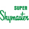 Cessna Super Skymaster Aircraft Decal/Sticker 5''h x 8.5''w!