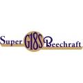 Beechcraft Super G18S Aircraft Emblem,Decals!